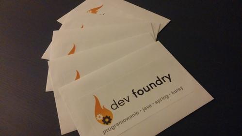 wykop party dev foundry  nagrody blog programowanie java spring kursy