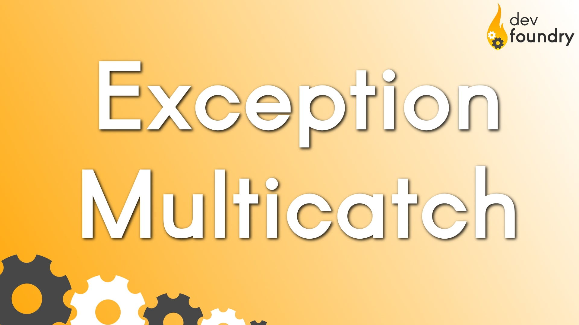 exception multicatch dev foundry blog programowanie java spring kursy